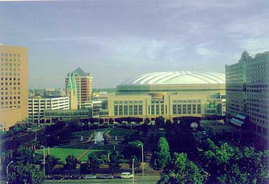 Convention Center and RCA Dome